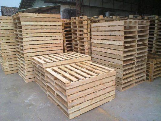 Pallet gỗ nâng 2 hướng tại Vĩnh Phúc