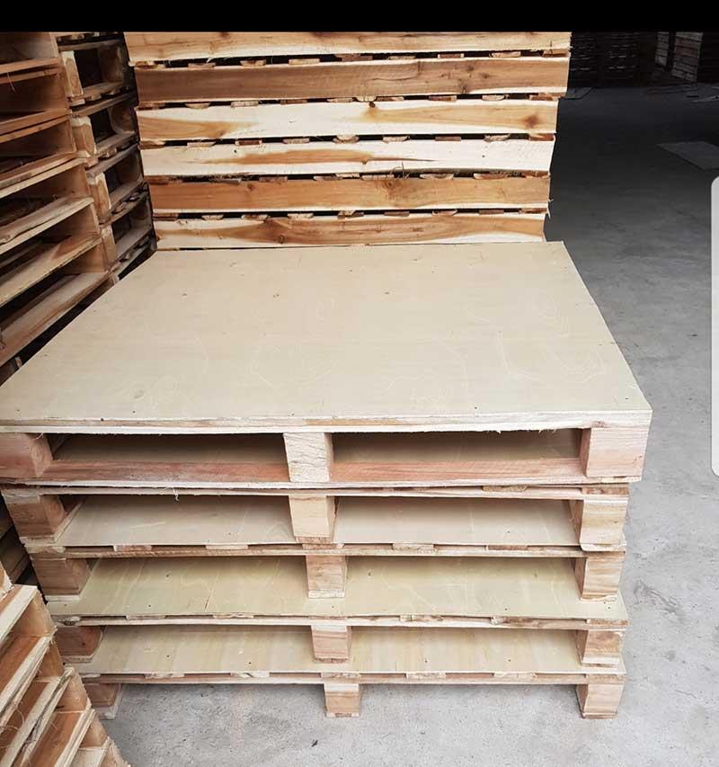 Pallet ván ép kt: 1200x1000 trọng tải 1.2 tấn